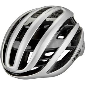 ABUS AirBreaker Cykelhjelm, gleam silver